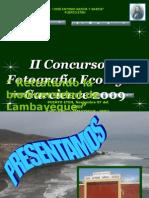 Programa Oficial Concurso Fotografia 2009