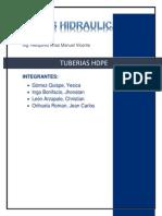 informe tuberias hdpe