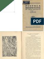 61326798 Pistola Browning de Gran Potencia Calibre 9 Mm 13 Cartuchos Spain 1935