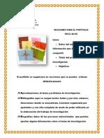 4º Ih- Secciones Del Portfolio en El Blog