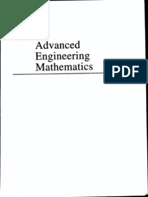 Advanced Engineering Mathematics 8th Ed Kreyszig 2001