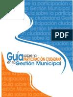 Guia Participación Ciudadana FEDOMU