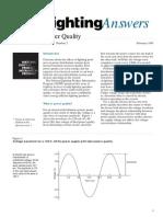How Do Lighting System Affect Power Quality