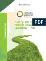 Plano de Ação Para Produção e Consumo Sustentáveis III