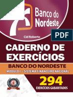 Caderno de Exercicios Banco Do Nordeste