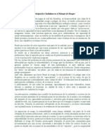 La Participación Ciudadana en El Manejo de Riesgos Maracucho