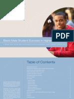 Black Male Student Success