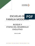 Bloque II Etapas Desarrollo Evolutivo (3-6 Años)
