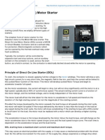 Electrical-Engineering-portal.com-Direct on Line DOL Motor Starter
