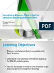 Handout_4060_Introducing Advance Steel - A Tool for Structural Detailing and Fabrication