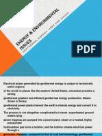 Energy & Environmental Issues