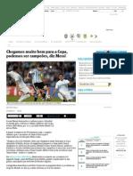 Chegamos Muito Bem Para a Copa, Podemos Ser Campeões, Diz Messi - 07-06-2014 - Folha Na Copa - Esporte - Folha de S