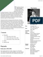 Hua Luogeng - Wikipedia, The Free Encyclopedia