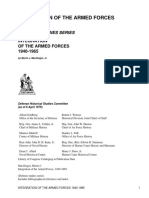 Integration of the Armed Forces, 1940-1965 by MacGregor, Morris J., 1931-