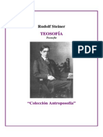 Steiner, Rudolf - Teosofia