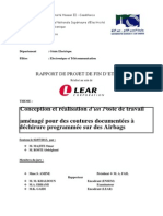 Rapport de Stage LEAR Corporation