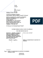 State of Oregon and Multnomah County Reply Motion to Dismiss in Geiger v. Kitzhaber 9th Circuit