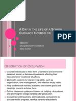 occupational presentation