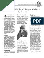 Women-in-Royal Rangers Ministry