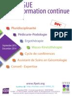 Catalogue Cursri Ifpek Rennes