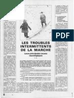 Gil R. - Les Troubles Intermittents de La Marche ... - Psychiatrie Pratique Du Médecin - 1980
