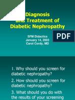Diabetic Nephropathy PPT