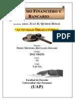 Derecho Financiero y Bancario Reynaldo Perez 2012106253