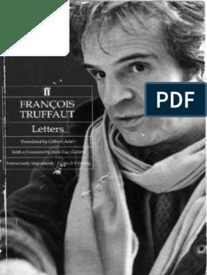 Francois Truffaut Letters 1989