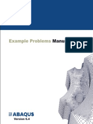 Abaqus] Abaqus Examples Problems Manual | Buckling | Young's Modulus