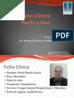 Caso Clínico Adenocarcinoma Rectal