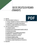 Tema 6 Analisis de Circuitos en Regimen Permanente
