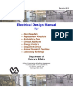 Electrical Design Manual -For Hospitals