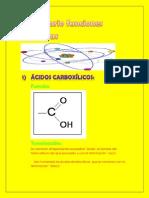 Diccionario funciones orgánicas