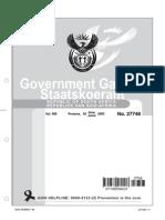 Legislative Acts - MFMA - Exemptions