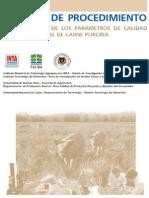 INTA Manual de Procedimiento p Determ Calidad de Carne Porcina