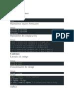 Glosario JavaScript