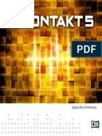 Kontakt 5 Application Reference French