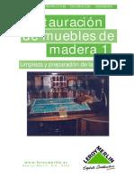 Restauracion Muebles de Madera 1
