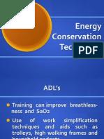 ADL Techniques