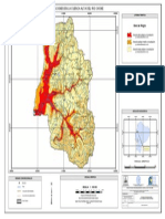 Mapa de Peligros Frente a Inundaciones Chone