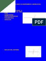 Sistema Monoclinico (Clinorombico, Unioblicuo)
