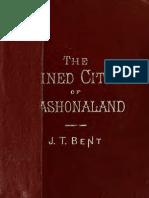 The Ruined Cities of Mashonaland