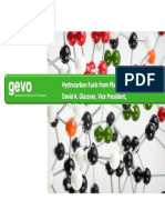 GEVO Hydrocarbon Fuels from Plant Biomass