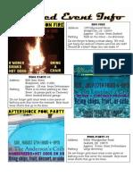 Detailed Summer Info