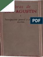 San Agustín, 01 Introducción Gral. y Primeros Escritos