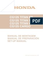 HondaCG125 Manual