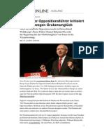 Tuerkei Wahlkampf Deutschland Opposition