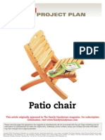 Patio Chair - FH01SEP