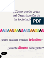 Como Puedo Crear i Organizacion de La Sociedad Civil