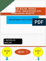 Modelir Malam, Proses Laboratorium, Remounting Dan New